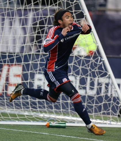 Struggling to find the stat sheet, Lee Nguyen put up an assist and goal to give the Revolution their second win of the year.